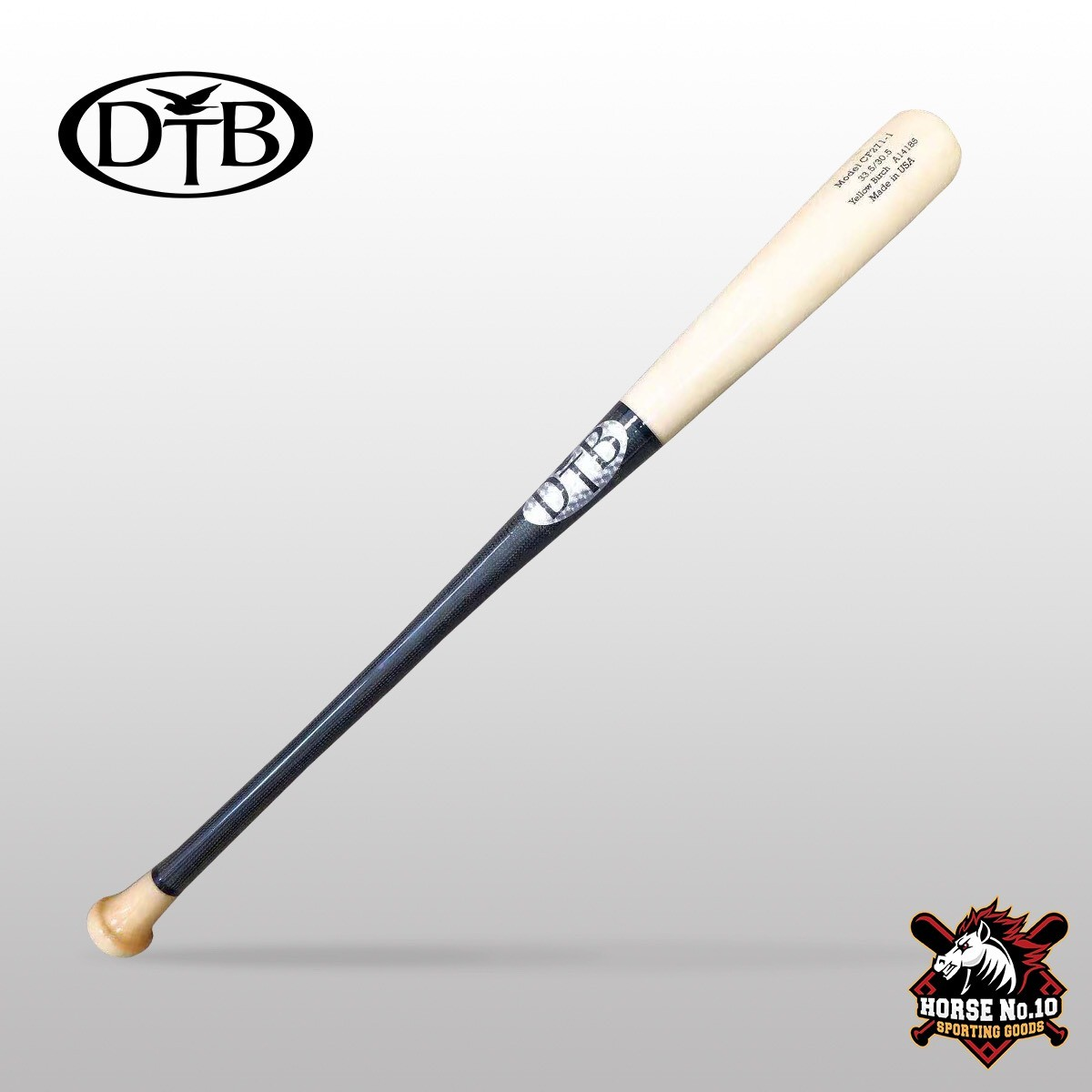 DTB DT71 黑色/原木:碳纖維/黃樺木